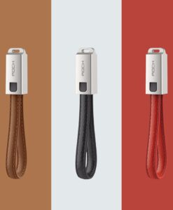 leather cable USB